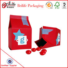 Hot ! 12 years experience new design christmas gift box factory