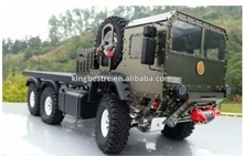 Full Metal 1/10 6X6 6WD Military Scale Tractor Truck RC Car Model 2015 New Product- kbr0010