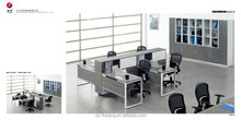 Modern office Workstation, MFC material table,simple design cheap office tables