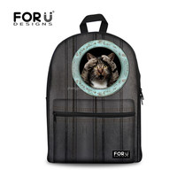 High Quality Cute Cat School Backpack,Design Your Own School Book Bag