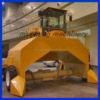 Factory price compost turner machine, compost turner