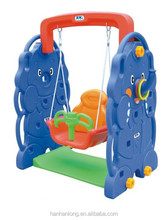 Plastic Swing Indoor Kids Playground Single Swing