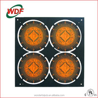 6 layers 94v0 3oz copper high tg170 high quality fr4 PCB with lead free HASL for Fitness equipment