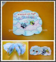 Cardboard Child Book In Flower Shape