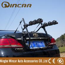 trunk bike carrier Carried 3 Standard Bikes By Wincar