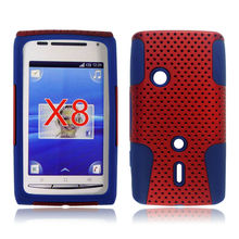 for Sony ericsson xperia x8 2 in 1 cellphone cover