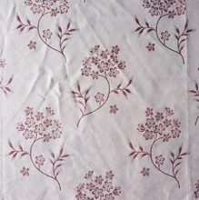 Newest 100% quilted satin cotton home curtain jacquard fabric