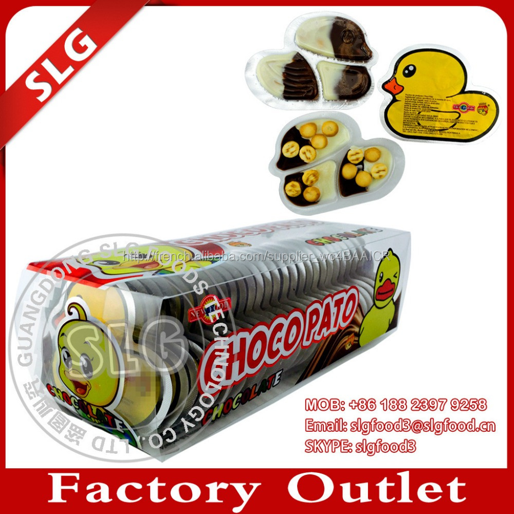 <span class=keywords><strong>Jaune</strong></span> canard choco pato chocolat biscuit