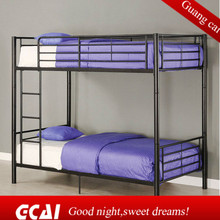 Commercial design cheap double decker forged iron bed