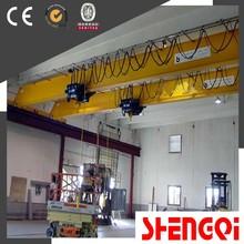Newly designed compact structure single girder bridge monorail crane