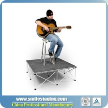 cheap portable stage platform,quick stage equipment,used portable stage for sale