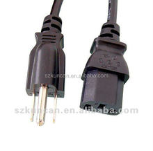 AC Power Cord Type and Home Appliance Application Dual Banana