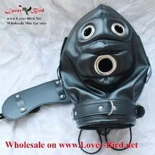 Hoods, Masks and Blindfolds leather hood mask china latex fetish mask