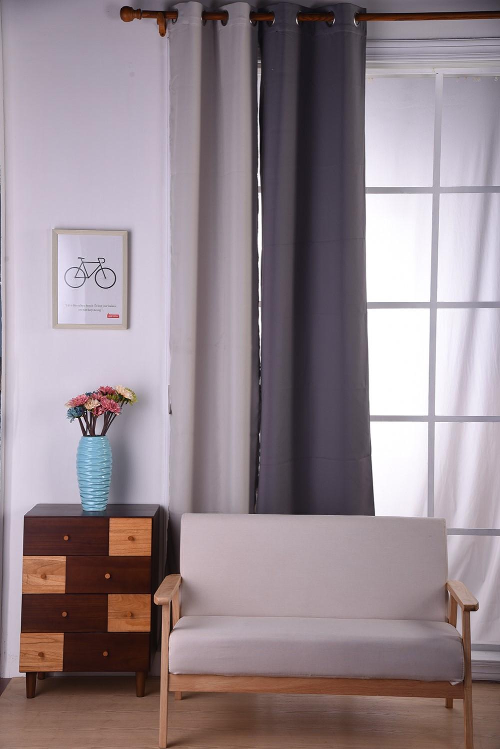 Moderne aangepaste bloemenprint gordijnen en draperie woonkamer ...