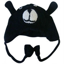 Woolen Animal Face Hat