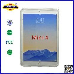 Soft TPU silicone cover case for iPad mini 4