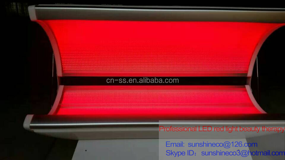 Hot Sale Sunshine Professional Led Bed Infrared Red