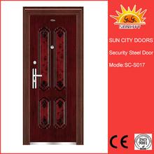 Modern American style exterior steel doors SC-S017