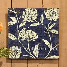 Handcrafts Rustic Floral Home Decor Wall