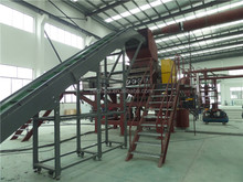 recycling plant for scrap tyre of 800kg per hour