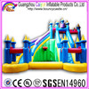 GZCY Inflatable Water Slide Castle