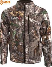 Primaloft winter camo hunting jacket