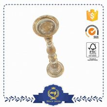 Top Class Customized Logo Printed Antique Brass Candlesticks