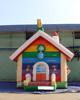New design flower house kids bounce house