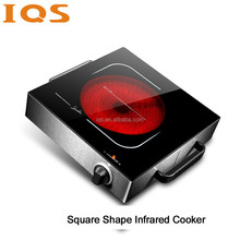 Unique design protable electric infrared cooktop