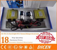 car hid conversion kit 35w 55w 75w 100w hid lamp with 18 months warranty