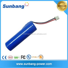 rechargeable battery powered portable heater lihium battery 18650 2200mah
