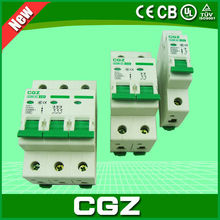 1p/2p/3p mcb miniature circuit breaker with best prices