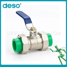 China Made Manual Plastic Ppr 4 Inch Ball Valve