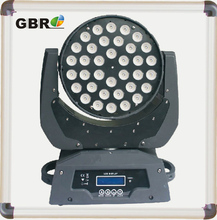 36*10w RGBW 4in1 Zoom Wash LED Moving Head Disco Club Decoration