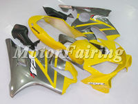 cbr600rr fairings for honda cbr 600 f4i fairings cbr f4i fairing kit cbr f4i 2004 2005 2006 2007 04-07 cbr f4i yellow silver
