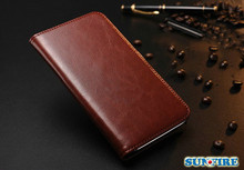 Factory Wholesale Phone Case for Apple iPhone 6 Case Leather Wallet