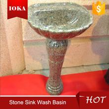 cheap pedestal granite sink
