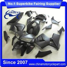 FFKHD008 Motorcycle Fairings For CBR600RR 2005 2006 Matt Black With Red Sticker