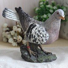 Garden decoration Simulation Animal resin pigeon for Decoration gifts