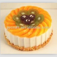 artificial birthday cake model for high quality decorative display
