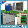 Automatic hydroponics green fodder breeding unit for farm use