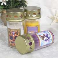 One the Top with Windproof Lid Burial Ground Candles