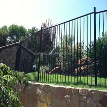 manufacturer steel grills fence design, galvanized steel fence post cap, designs for steel fence