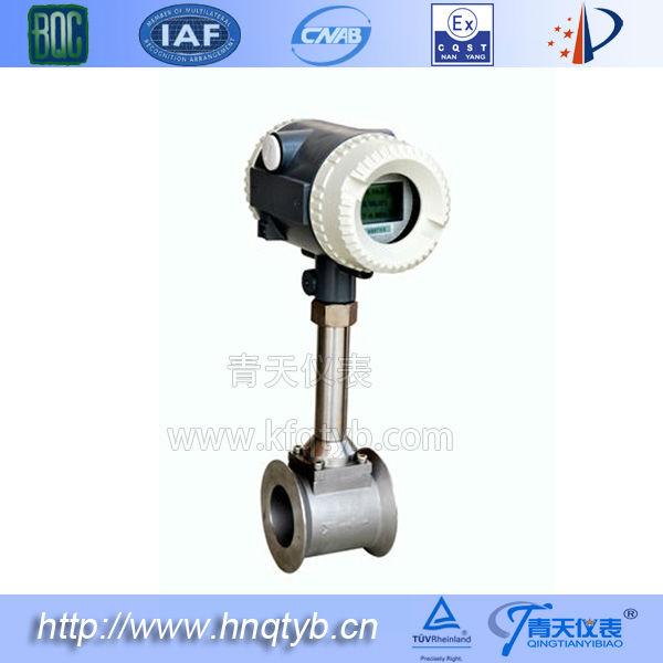 Flow Measuring Instruments : Air gas steam flow measuring instrument vortex flowmeter