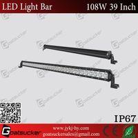 Super bright 9''108w led light bar auto parts opel astra