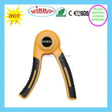 round shape valuable gym equipment rubber hand ring grip for effective resistance traing