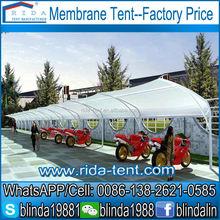 membrane tent for swimming pool