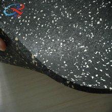 Gimnasio de alta calidad de goma del piso/gimnasio hoja de goma