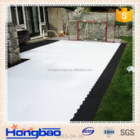 plastic slide sheet/synthetic ice rink ice similar uhmwpe skating rink thickness15~30mm/synthetic ice hockey rink panel