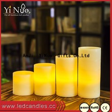 18 Key Remote Control LED Candle With Rechargeable, Set of 4